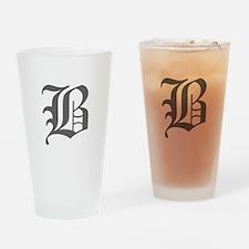 B-oet gray Drinking Glass