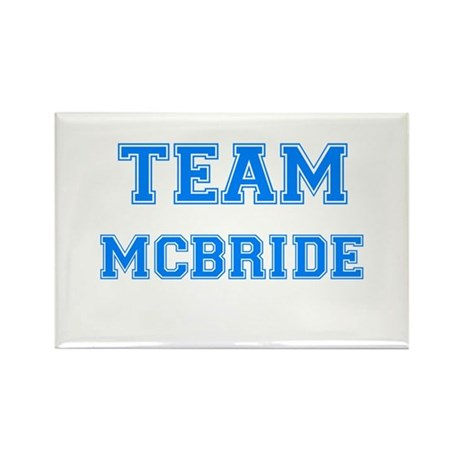 TEAM MCBRIDE Rectangle Magnet (10 pack)
