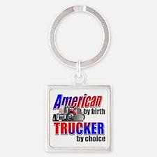 American Trucker Keychains