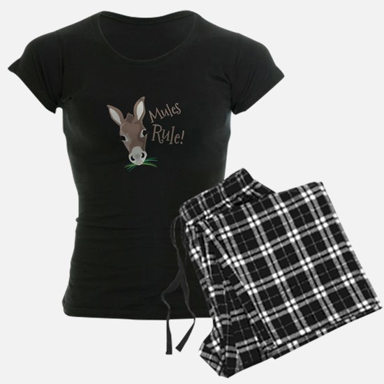 Mules Rule Pajamas