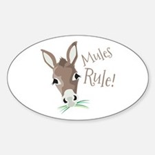 Mules Rule Decal