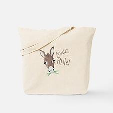 Mules Rule Tote Bag