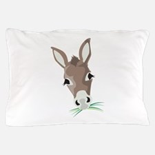 Donkey Head Pillow Case