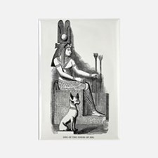 Isis - Egyptian Goddess Rectangle Magnet