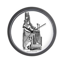 Isis - Egyptian Goddess Wall Clock
