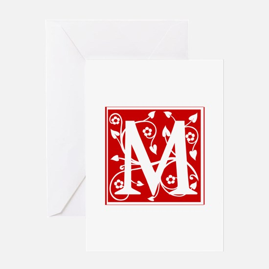 M-ana red2 Greeting Cards