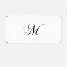 M-cho black Banner