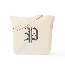 P-oet gray Tote Bag