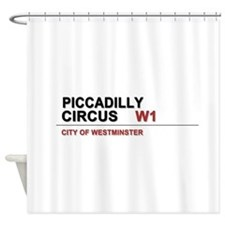 Piccadilly London UK Shower Curtain