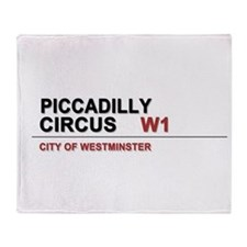 Piccadilly London UK Throw Blanket