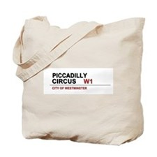 Piccadilly London UK Tote Bag