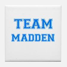 TEAM MADDEN Tile Coaster