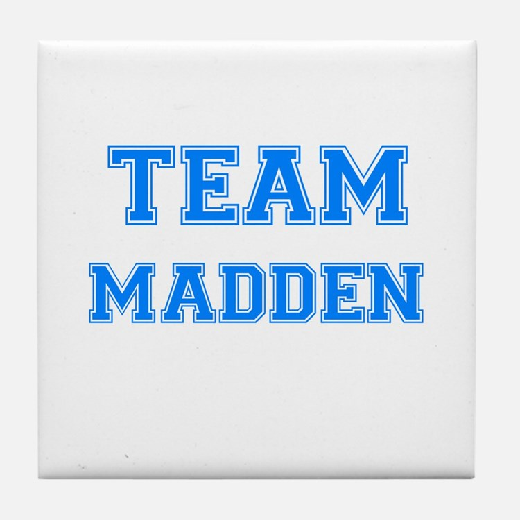 TEAM MADDEN Tile Coaster