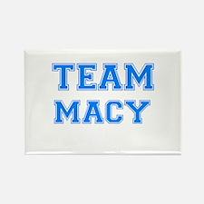 TEAM MACY Rectangle Magnet