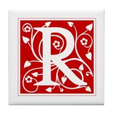 R-ana red2 Tile Coaster