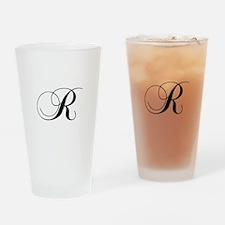 R-cho black Drinking Glass