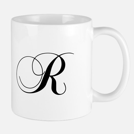 R-cho black Mugs