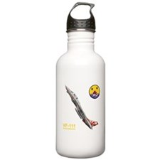 vf111ogo10x10_apparel Water Bottle