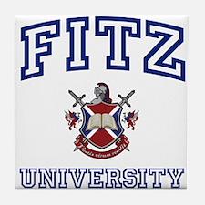 FITZ University Tile Coaster
