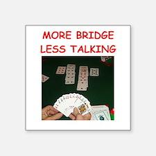 duplicate bridge Sticker