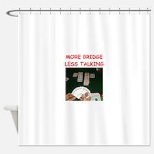 duplicate bridge Shower Curtain