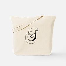 S-cho black Tote Bag