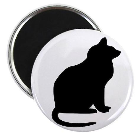 KittyKat Silhouette magnet