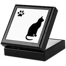 Elgant kitty Keepsake Box