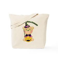 Bear Wizard 1st Halloween Tote Bag