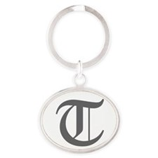 T-oet gray Keychains