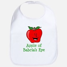 Apple of Babcia's Eye Bib