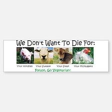Animal Voices Bumper Car Car Sticker