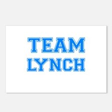 TEAM LYNCH Postcards (Package of 8)