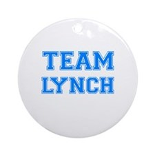 TEAM LYNCH Ornament (Round)