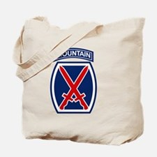 10th Mountain Division.psd.png Tote Bag