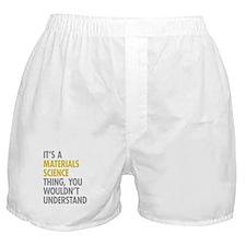 Materials Science Thing Boxer Shorts