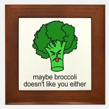 Broccoli Framed Tile
