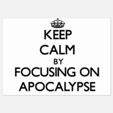Keep Calm by focusing on Apocalypse Invitations