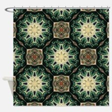 rustic abstract bohemian pattern Shower Curtain