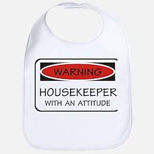 Attitude Housekeeper Bib