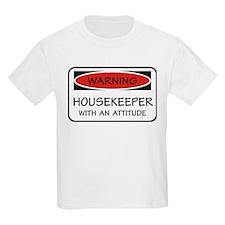 Attitude Housekeeper T-Shirt