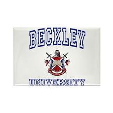 BECKLEY University Rectangle Magnet