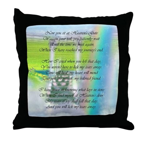 When Should I Throw Away My Pillow : Lick My Tears Away Throw Pillow by shopspringdale