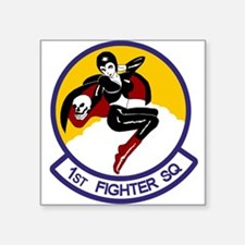 1st Fighter Squadron Rectangle Sticker