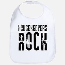 Housekeepers Rock Bib