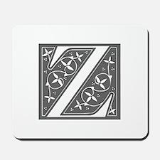 Z-fle gray Mousepad