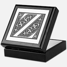 Z-fle gray Keepsake Box