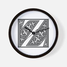Z-fle gray Wall Clock