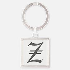 Z-oet gray Keychains
