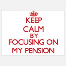 Keep Calm by focusing on My Pension Invitations